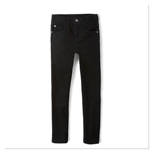 CHILDREN'S PLACE Boys Black Slim Skinny Jeans
